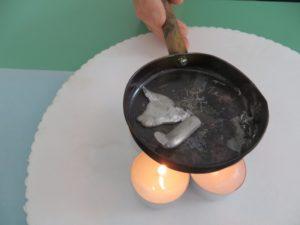 Esperimento sulla fusione del metallo