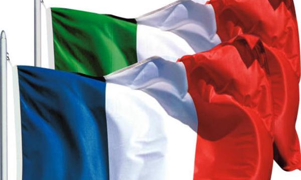 Italia francia bandiera